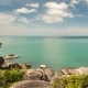 Beautiful Rocky Beach and Sea in Samui, Thailand - VideoHive Item for Sale
