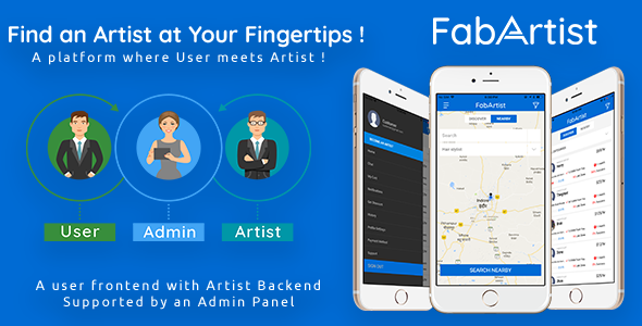 Hire for Work - Fab Artist iPhone - CodeCanyon Item for Sale