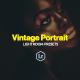 28 Pro Vintage Portrait Lightroom Presets