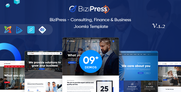 BiziPress - Multipurpose Joomla Business Template - Business Corporate