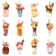 Milkshakes Vectors - GraphicRiver Item for Sale
