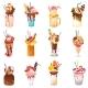 Milkshakes Vectors - GraphicRiver Item for Sale