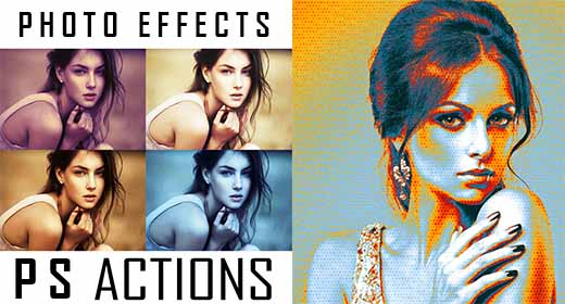 Professional Photo Effects -  PS Actions