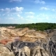 Upper Motion Along Steep Slopes of Clay Quarry - VideoHive Item for Sale