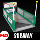 Subway Entrance - 3DOcean Item for Sale