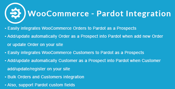 WooCommerce - Pardot Integration - CodeCanyon Item for Sale