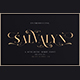 Salvalyn - Stylistic Serif Font - GraphicRiver Item for Sale