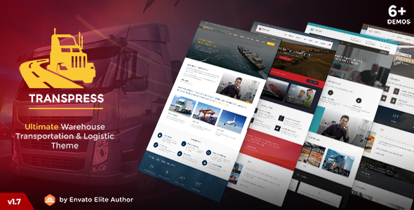 30 Top Transportation & Logistics WordPress Themes 2018