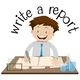 Flashcard Design For Write A Report