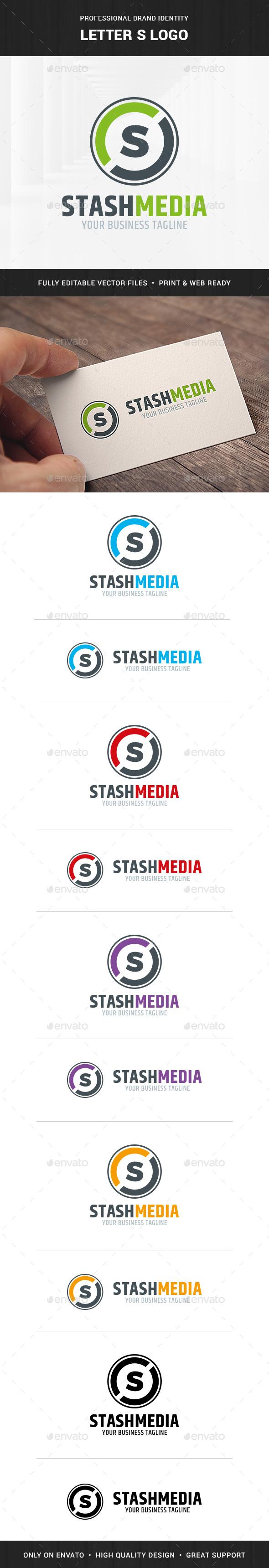 Letter S Logo Template - Letters Logo Templates