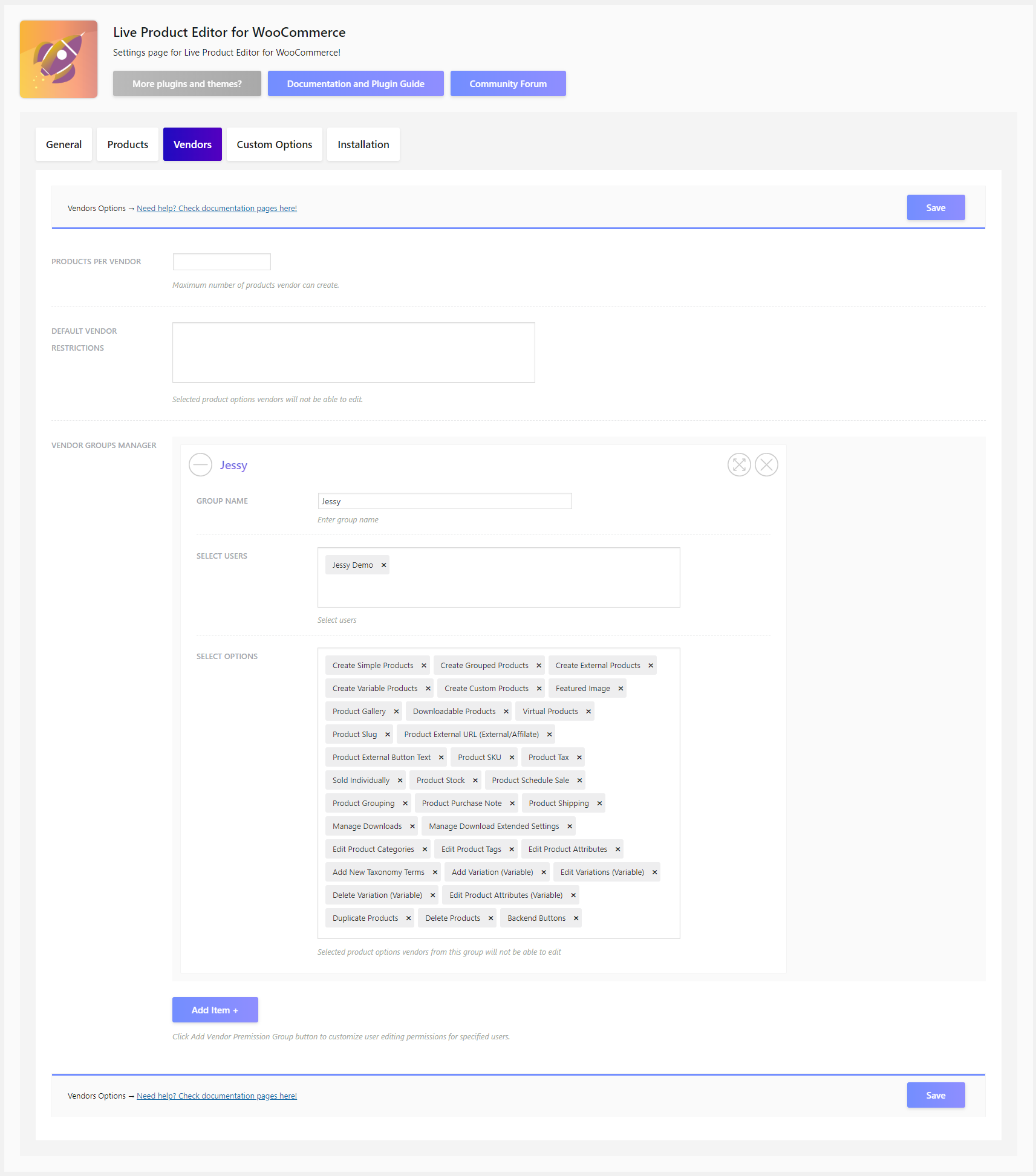 Live Product Editor for WooCommerce