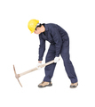 Man in uniform hold pick mattock_-9 - PhotoDune Item for Sale