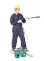 man stand and holding high pressure water-6 - PhotoDune Item for Sale