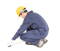 worker in unifrom with tape measure_-6 - PhotoDune Item for Sale