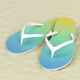 Flip flops on sand - PhotoDune Item for Sale