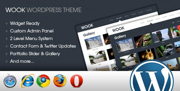 Wook – 2 in 1 Portfolio & Business Wordpress