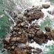 Water Splashing Against Rocks Hikkaduwa Sri Lanka Aerial - VideoHive Item for Sale