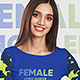 Female Long Sleeve T-Shirt Mockups - GraphicRiver Item for Sale