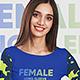 Female Long Sleeve T-Shirt Mockups - GraphicRiver Item for Sale