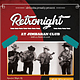 Retro Night Flyer / Poster - GraphicRiver Item for Sale