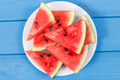 Watermelon as source vitamins and minerals, concept of juicy dessert - PhotoDune Item for Sale