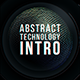 Abstract Technology Intro - VideoHive Item for Sale