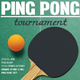 Ping Pong Flyer Template - GraphicRiver Item for Sale