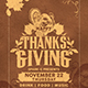 Thanks Giving Flyer - GraphicRiver Item for Sale