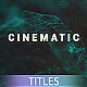 Plexus Form Cinematic Titles - VideoHive Item for Sale