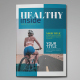 Healthy Magazine Indesign Template - GraphicRiver Item for Sale