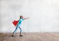 Flying super hero in studio - PhotoDune Item for Sale