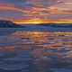 Sunrise in a Glacial Fjord - PhotoDune Item for Sale