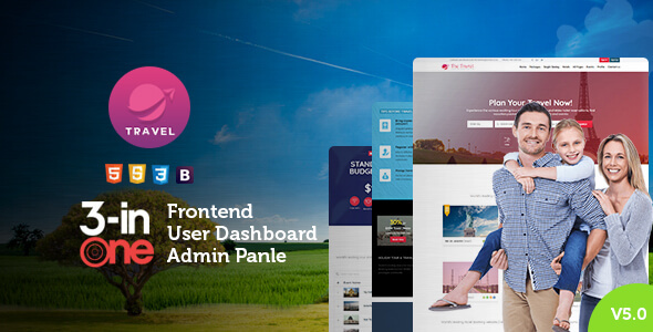 Tour and Travel Booking html Template