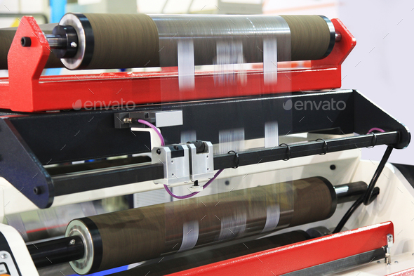 Printing industry equipment - Stock Photo - Images