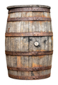 Vintage Wooden Beer Or Whiskey Barrel - PhotoDune Item for Sale