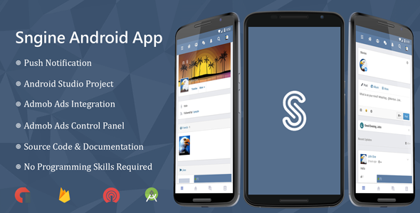 Sngine Android Application            Nulled