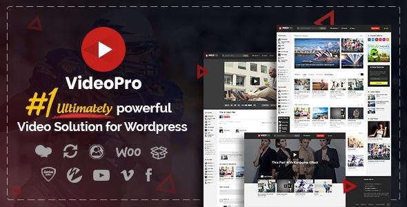 VideoPro - Video WordPress Theme - Blog / Magazine WordPress