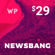 Newsbang - News and Magazine WordPress Blog Theme - ThemeForest Item for Sale