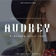 Audrey - Modern Serif Font - GraphicRiver Item for Sale