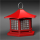Japanese Lantern - 3DOcean Item for Sale