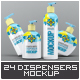 Dispenser Bottles Mock-Up B-Graphicriver中文最全的素材分享平台