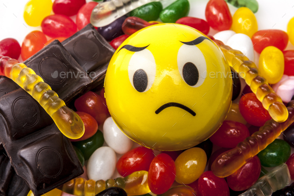 No More Sweets - Stock Photo - Images