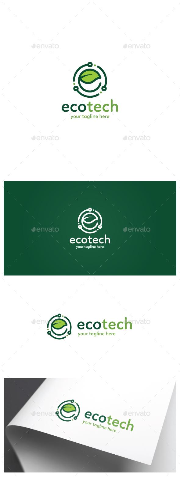 Eco Tech Logo - Nature Logo Templates