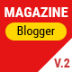 Free Download Mogtemplates - MogMagazine Template For Blogger V.2.1 Nulled