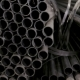 Metalic Pipes on Warehouse, Rows of Metal Pipes on Industrial Warehouse - VideoHive Item for Sale