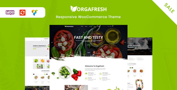 Orgafresh – Organic & Food WooCommerce WordPress Theme