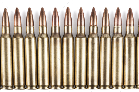 Bullets Row - Stock Photo - Images