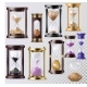 Sandglass Vector Glass Clock with Flowing Sand - GraphicRiver Item for Sale
