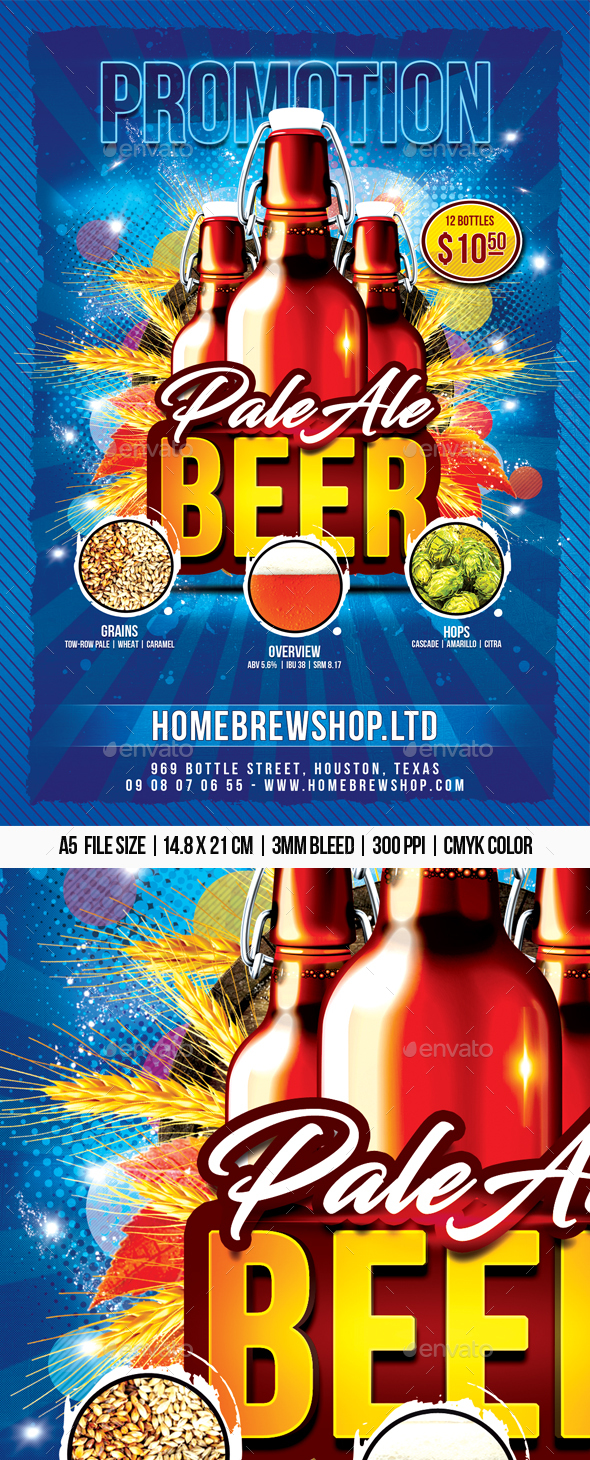 Beer Promotion Flyer - Events Flyers