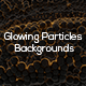 Glowing Particles Backgrounds - GraphicRiver Item for Sale